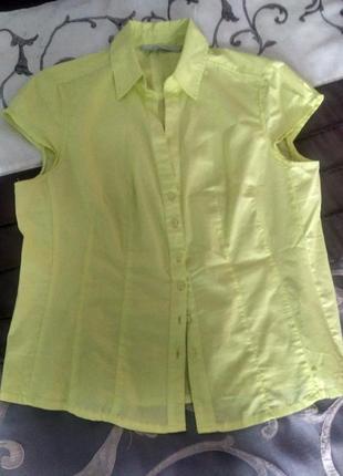 Жовта блуза від zara