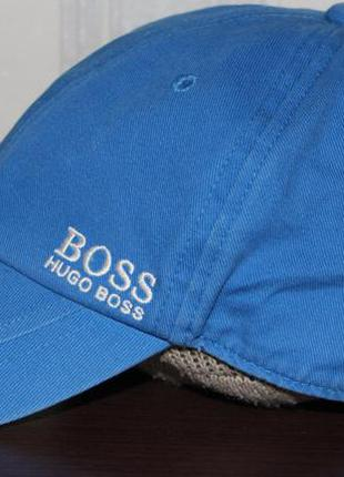 Брендовая кепка бейсболка hugo boss оригинал р.54-56