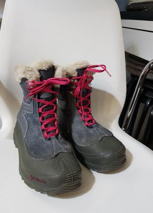 Зимние сапоги ботинки columbia с omni-heat. стелька 23 см