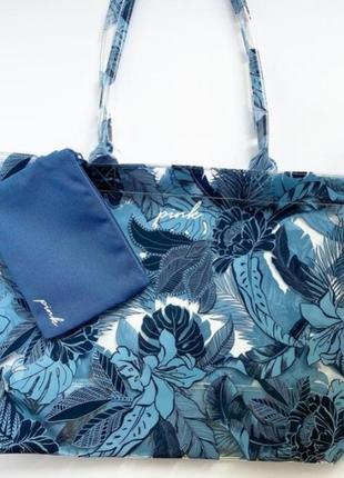 Пляжная сумка victoria's secret, сумка тоте, сумка пляжная виктория сикрет