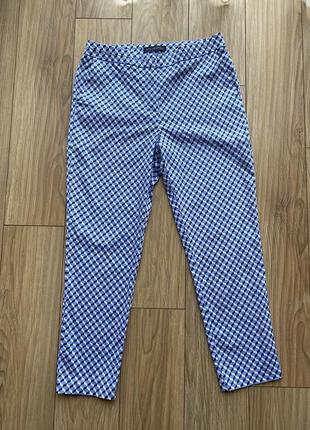 Супер качественные брюки с геометрическим принтом