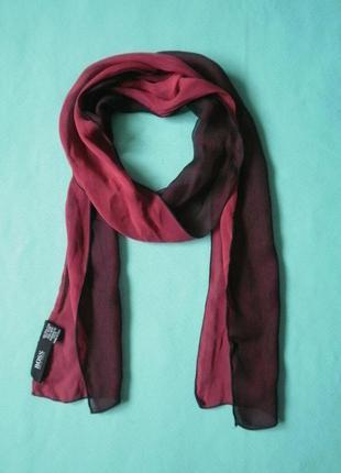 Легкий шелковый шарфик от hugo boss