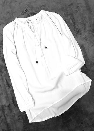 Birkin jenna франция блуза блузка белая m пог 49 см