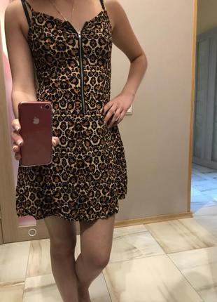 Крутое летнее платье h&m