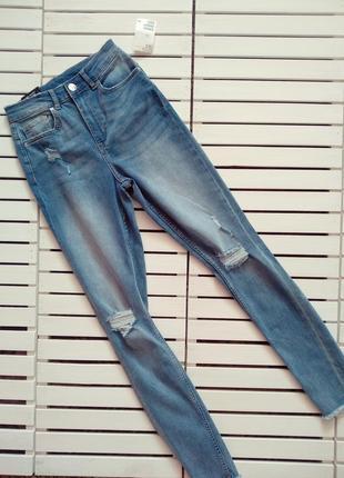 Стрейчеві джинси h&m