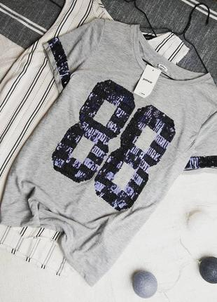 Новая футболка pimkie