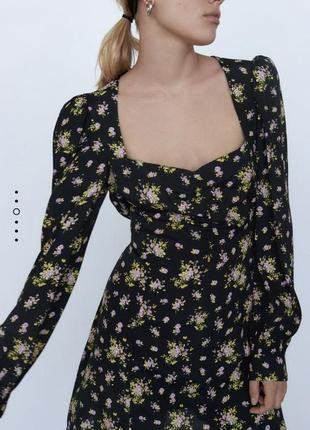 Платье zara 2020 коллекции