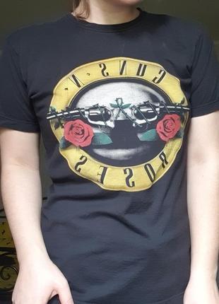 Футболка мерч guns n  roses