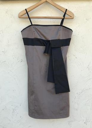 Платье мини цвета капучино