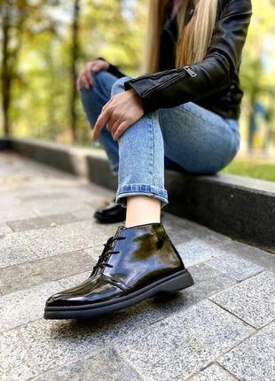 Ботинки лак 36-40