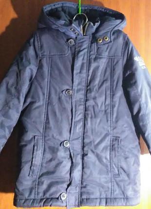 Детская утепленная куртка