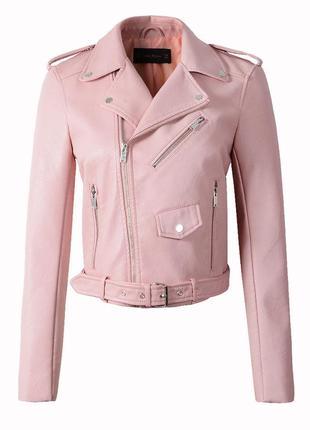 Розовая косуха! недорого!