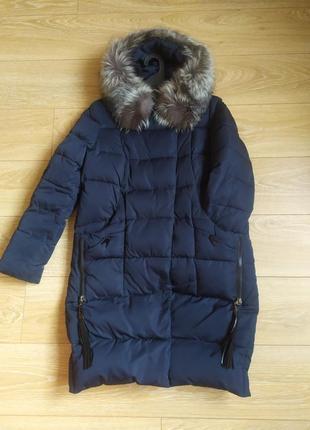 Жіноча куртка зимова оверсайз ( підійде для вагітних) або обмін