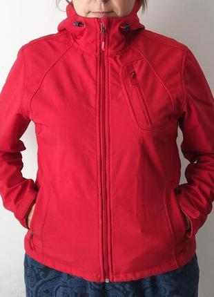 Куртка double diamond / женская куртка из софтшелла / теплая куртка