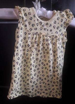 Платье 9-12 мес. lc waikiki