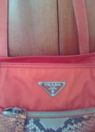 Очень красивая сумка prada milano