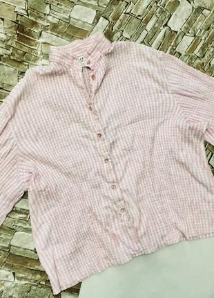 Красивая рубашка плисе оверсайз