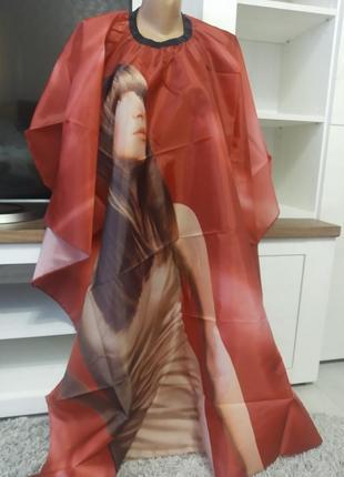 Накидка парикмахерская для клиента