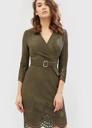Замшевое платье cardo