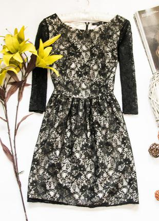 Гипюровое платье french connection