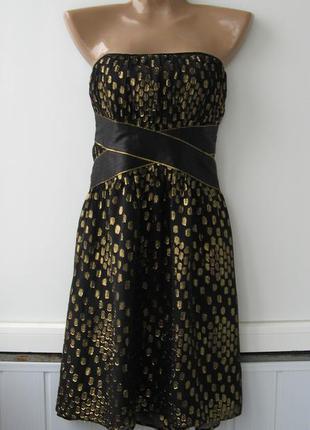 Платье из шелка - вечернее, коктейльное