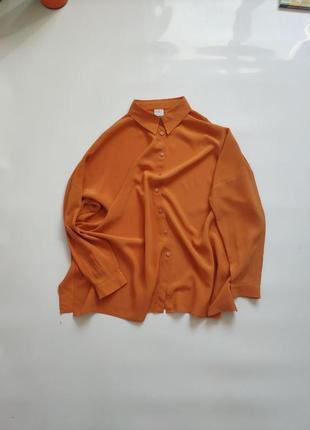Шелковая рубашка туника оверсайз натуральный шелк