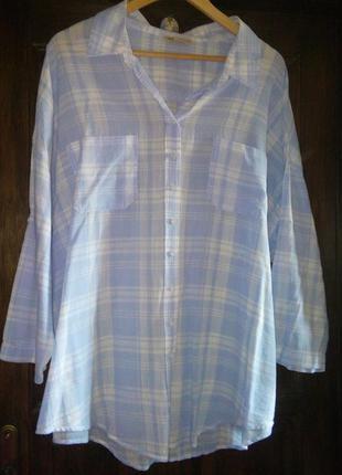 Легка сорочка вільного крою m&s