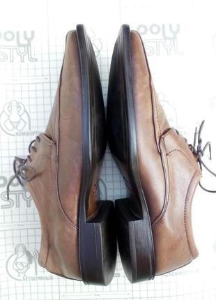 Туфли на шнуровке мужские кожа salamander оригинал 40 р 27,5 см