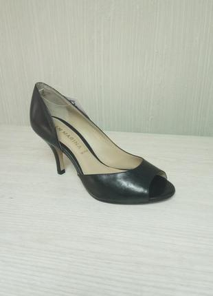 """San marina """"маленькие"""" чёрные туфельки"""