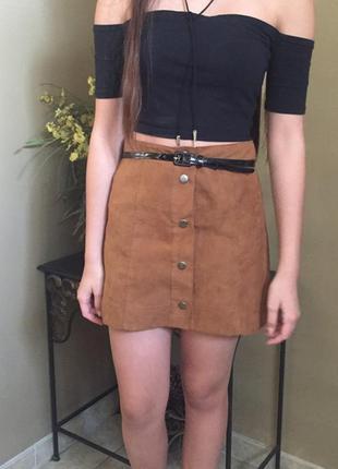 Замшевая юбка от dorothy perkins 2017