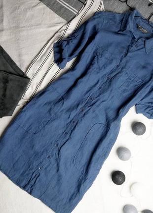 Платье из льна marks & spencer
