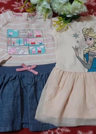 2 платья  12-18м