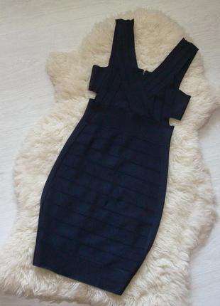 Нереальное бандажное платье french connection