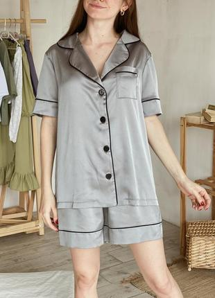 Пижамный комплект (футболка+шорты)