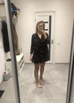 Платье- рубашка zara