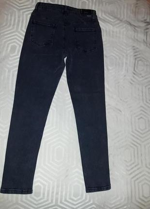 Женские осенние джинсы большие размеры высокая посадка турция