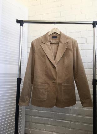Пиджак піджак жакет бренд biaggini кемел беж