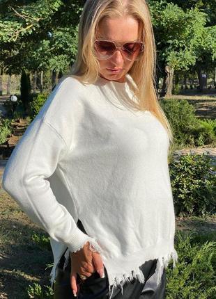 Шикарный свитерок кофточка батал италия люкс качество очень