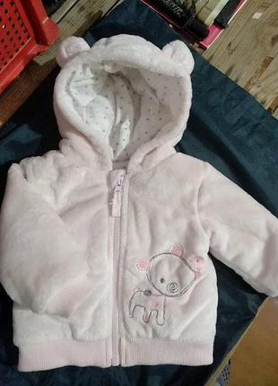 Курточка рожева