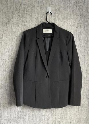 Пиджак. серый.