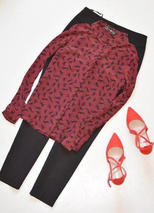 Шикарная блуза из натурального шелка,эксклюзив,блуза с принтом