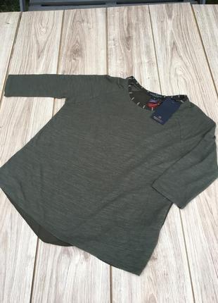 Стильная актуальная блуза блузка лонгслив реглан maison scotch & soda massimo dutti h&m