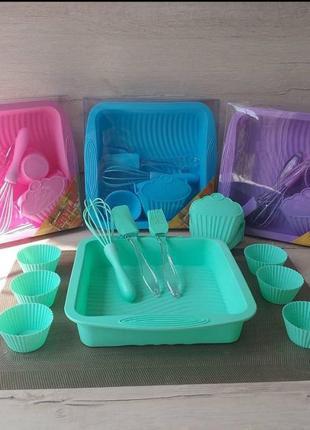 Набір посуду сіліконовий набір