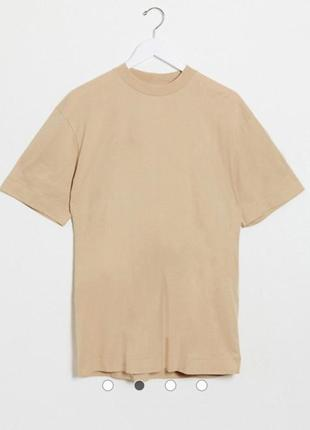 Oversize футболка коричневого цвета от бренда collusion