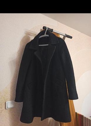 Пальто кокон,бойфренд,l,48-50,xl