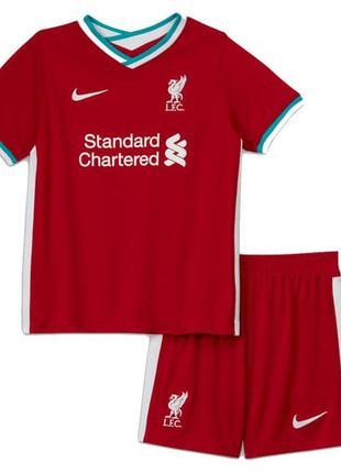 Детская футбольная форма ливерпуль (основная), новый сезон 2020-2021