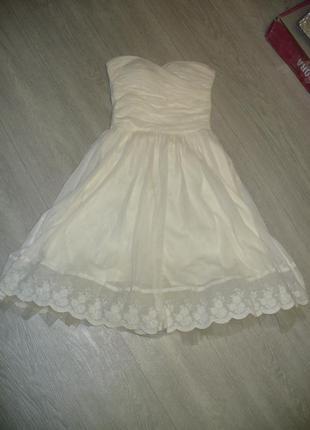Нарядное платье sinequanone . размер s.