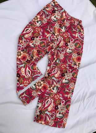 Класні яскраві утеплені штани від h&m