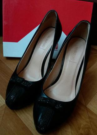 Кожаные туфли lino marano