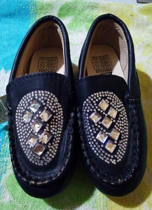 Туфли лоферы мокасины новые